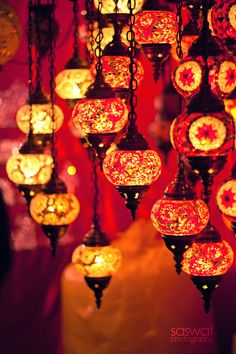 Arabian Nights-inspired lanterns