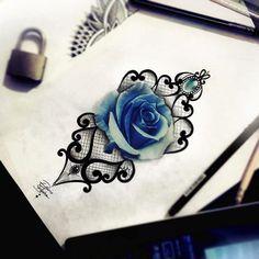 rose tattoo, blue, lace tattoo, realistic tattoo, diamond tattoo, ornamental tattoo, edwin basha tattoo, draw, disegno, art, arte , sketch, tatuaggio pizzo, tatuaggio rosa, tatuaggio pizzo, tatuaggio realistico, ink, tatuaggio ornamentale, diamante, girl, turin, torino, sketch for tattoo