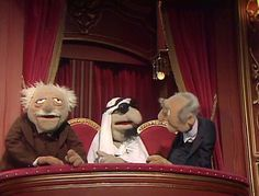 Statler and Waldorf/Gallery Jim Henson, Sesame Street Characters, Fraggle Rock, Disney Wiki, The Muppet Show, Kermit The Frog, Childhood Friends, Treasure Island, Haunted Mansion