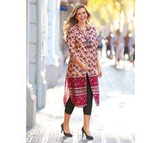 Dlhá košeľa s potlačou | modino.sk  #ModinoSK #modino_sk #modino_style #style #fashion #spring #summer #newcollection Dresses For Work, Dresses With Sleeves, Long Sleeve, Sweaters, Fashion, Moda, Sleeve Dresses, Long Dress Patterns, Fashion Styles