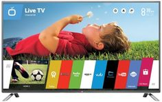 """The LB6300 begins with exceptionally clear Full HD 1080p resolution and crisp, bright LED backlighting, then adds #LG""""s acclaimed Smart TV features. Enjoy easy a..."""