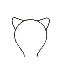 Cat headband.