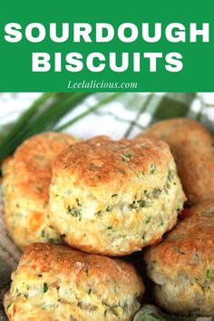 Sourdough Biscuits, Sourdough Rolls, Sourdough Recipes, Bread Recipes, Cooking Recipes, Cheese Biscuits, Dough Starter Recipe, Sourdough Starter Discard Recipe, Sour Dough Starter