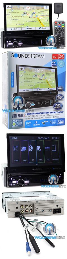 Video In-Dash Units w GPS: Soundstream Vrn75hb 7 Cd Dvd Gps Usb Bluetooth Navigation 300W Amplifier Stereo -> BUY IT NOW ONLY: $249.99 on eBay!