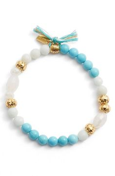 Chan Luu Beaded Stretch Bracelet available at #Nordstrom