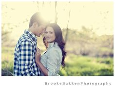 Cute engagement shots