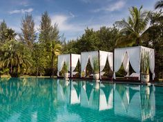 The Sarojin swimming pool, Khao Lak