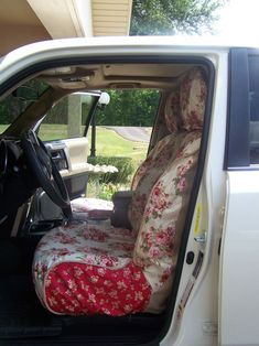 The women at the #Cherry Hill Cottage blog are so creative! I would love to have these carseat slipcovers for Old Reliable.
