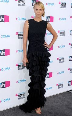 Ruffle Effect: Charlize Theron's Best Looks