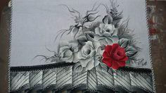 Minhas pinturas em tecido. //  ♡ VERY BEAUTIFUL!!! ♥A