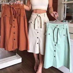 Fashion tips that are fun and stylish Modest Outfits, Skirt Outfits, Modest Fashion, Summer Outfits, Casual Outfits, Cute Outfits, Fashion Outfits, Womens Fashion, Jw Mode