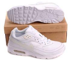 Nike Air Max BW Alle Weißen Herren Schuhe