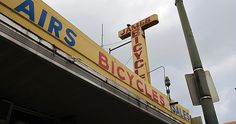 James Bicycle Shop started in 1920 at the corner of Flores and Houston streets, adjacent to the original Buckhorn Saloon. After September 1, look for it in its new location in the Atlee B. Ayers Building, 114 Broadway – just a block from our Gunn Auto headquarters!