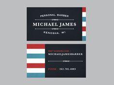 Michael James Personal Barber by Jeff Buchanan | Fivestar Branding – Design and Branding Agency & Inspiration Gallery