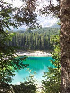 ✮ South Tirol, Italy - Karersee - Lago di Carezza - Lake Carezza