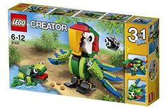 LEGO Creator_31031_Rainforest Animals_215 pcs/pzs_Brand New Sealed Set /ITEM#G839GJ UY-W8EHF3186517