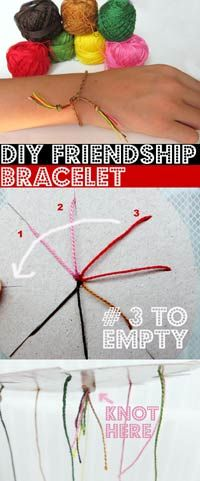 Easy & clear DIY Friendship Bracelet Tutorial