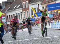 Xandro Meurisse wins stage 4 at the Quatre Jours de Dunkerque