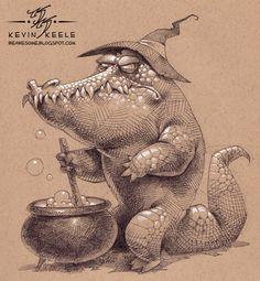 Kevin Keele est un illustrateur qui vit dans l'Utah aux Etats Unis, il est actuellement en poste chez Disney Interactive Studios/Avalanche mais il continue à faire des croquis entre deux films.