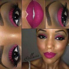 ideas makeup tutorial for black women dark skin shades - Makeup Tutorial Lipstick I Love Makeup, Kiss Makeup, Pretty Makeup, Brown Skin Makeup, Skin Shades, Lipstick Shades, Matte Lipstick, Liquid Lipstick, Flawless Makeup