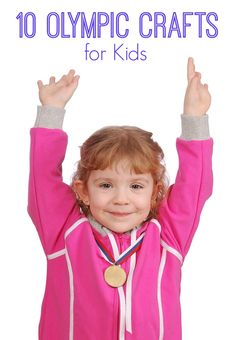 Ten Olympic Crafts for Kids  - http://mylifeandkids.com/ten-olympic-crafts-for-kids/