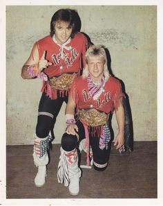 NWA World Tag Team Champions The Rock 'n Roll Express