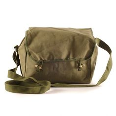Hands of Industry: Vintage Military Satchel I, at 20% off!
