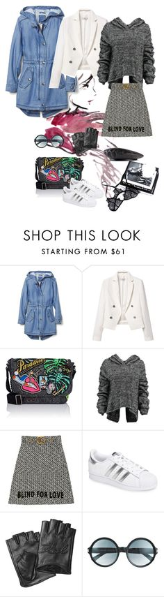 Washington D.C by aroamoda on Polyvore featuring Taylor, MANGO, Gucci, adidas, Marc Jacobs, Karl Lagerfeld and Tom Ford