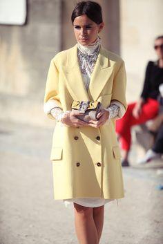 miroslava duma   paris fashion week