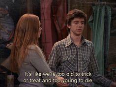 Halloween in a nutshell.