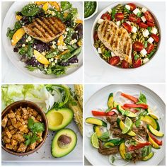 Easy Healthy Dinners, Healthy Foods To Eat, Healthy Dinner Recipes, Diet Recipes, Healthy Eating, Weight Loss Meals, 1200 Calories, 1200 Calorie Diet Plan, Cook Smarts