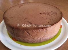pan di spagna alto al cacao