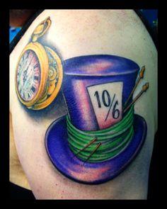 mad hatter hat tattoo more tattoo mad mad hatter tattoo hat tattoo mad . Arrow Tattoos, Wolf Tattoos, Finger Tattoos, Hand Tattoos, Sleeve Tattoos, Tatoos, Movie Tattoos, Disney Tattoos, Trendy Tattoos