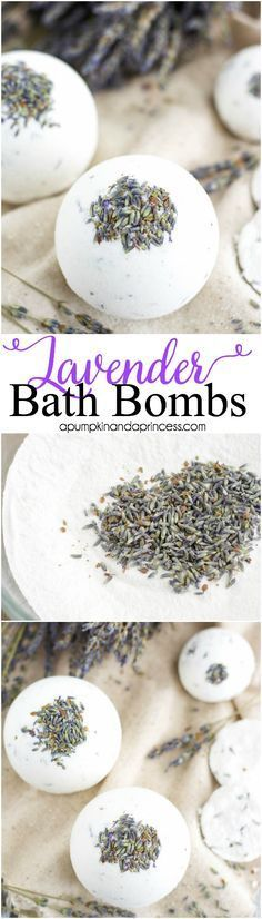 I want to make these with Taylor. She loves lavender and anything fancy to put in the bathtub ♥ DIY Bath Bombs | Her Campus