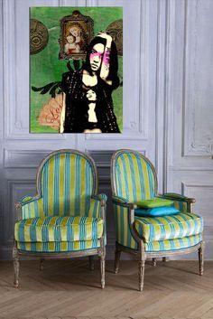 stripe decor armchair - Google 検索
