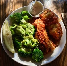 https://flic.kr/p/QnEdXS | golubtsi and steamed broccoli from Cinderella Russian Bakery & Cafe | stuffed cabbage www.placesiveeaten.com/blog/cinderella-russian-bakery