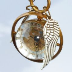 LEGENDARY FLYING  Golden Snitch WATCH by oldjunkyardboutique, $29.99