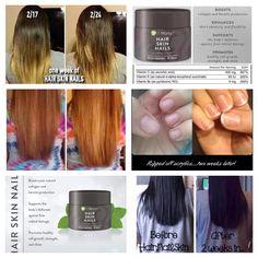 HSN = Hair, Skin & Nails promotes hair growth. http://www.bigchad.myitworks.com