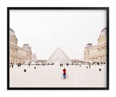 """""""Men in Red"""" - Art Print by Kate Baird in beautiful frame options and a variety of sizes."""