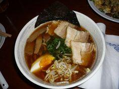 Ramen soup. Impresionante.