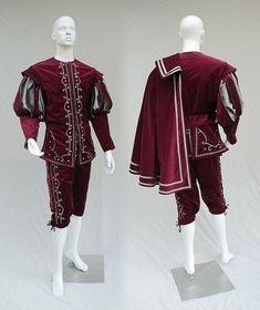 Tudor Fashion, Medieval Fashion, Medieval Clothing, Mens Renaissance Clothing, Renaissance Outfits, Fashion 1920s, Fashion Kids, Fashion Design, Mode Renaissance
