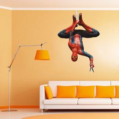 Baby Boys Room. Spiderman Decal  Heroes and Super heroes by UltimateWallDecals, $89.00