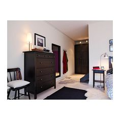 HEMNES 6-drawer chest IKEA Made of solid wood, which is a durable and warm natural material. Extra roomy drawers.