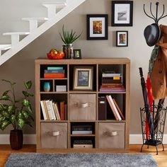 weathered wood veneer construction, easy assembly, #heavy duty shelving