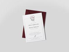Goodlove Studio » Kolekcja:_Dzikie_Wino - zaproszenia ślubne w kolorze bordo / marsala / burgund