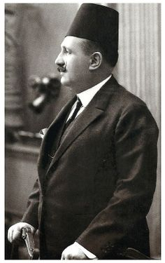 HM King Fouad of Egypt. Very nice picture for King Fouad.