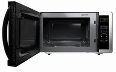 Farberware FMWO11AHTBKB Classic 1000W Microwave Oven, 1.1 cu. ft., Stainless Steel