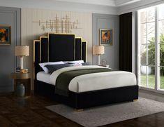 Contemporary Bedroom, Modern Bedroom, Modern Bedding, Modern Beds, Contemporary Design, Bedroom Furniture, Bedroom Decor, Bedroom Ideas, Glam Bedroom