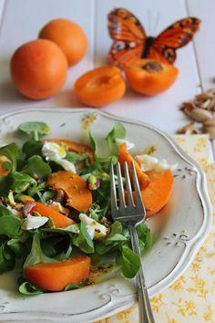 El blog de Ana H: Ensaladas con fruta. Recetas rápidas y fáciles.