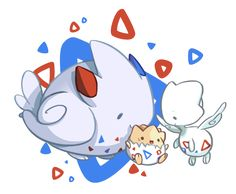 shavostars: Day 8: Fav Flying Type Togepi can be wherever he wants cuz he's gonna grow up fly, like a G6.